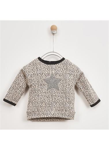 Panço Kız Bebek Sweatshirt 2021GB08016 Renkli